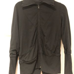Lululemon Black Jacket XS Womens /Gentle Worn